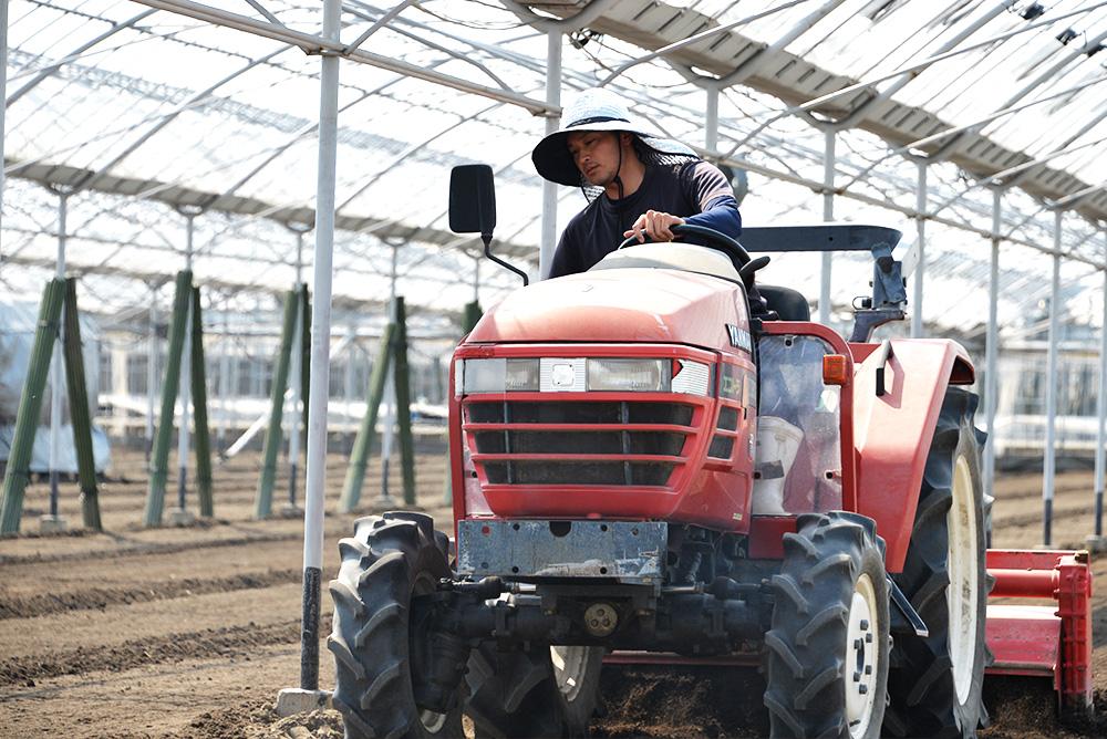 親子でつむぐ農業